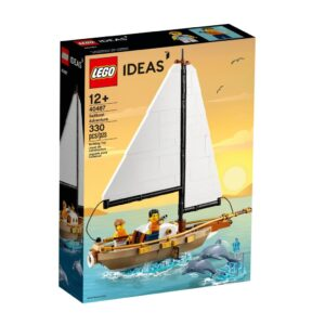 review lego ideas 40487 sailboat adventures gift with purchase