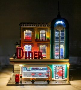 review lightailing downtown diner kit
