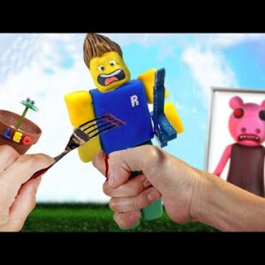 ROBLOX FOOD - Eating ROBLOX in real life | ASMR ANIMATION