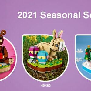 seasonal lego sets for halloween christmas