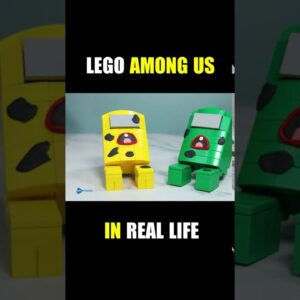 #Shorts Lego Among Us in Real life #2