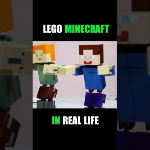 #Shorts Lego Minecraft in real life (part 2)