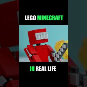 #Shorts Lego Minecraft in real life (part 3)