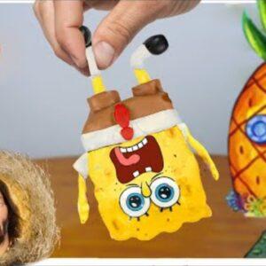Sponge Bob Mukbang and Patrack Star for Dinner |  ASMR Animation