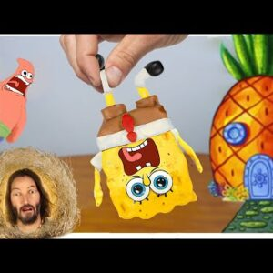 SpongeBob and Patrick Star Food in real life | MUKBANG ANIMATION