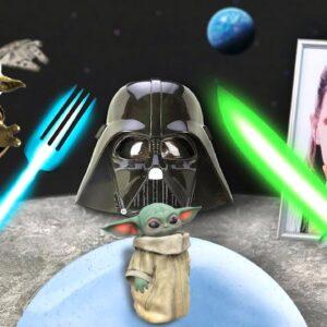 STAR WARS | BABY YODA! I Will Eatting you - Mukbang Animation
