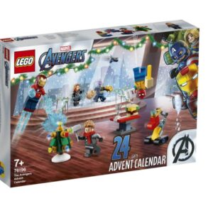 the 2021 lego marvel avengers advent calendar officially unveiled