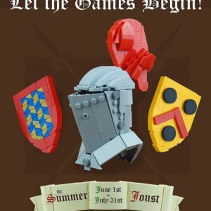 the summer joust lego castle building contest