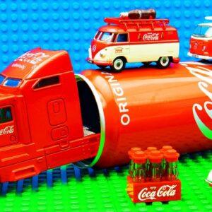 Truck SUV Coca Cola Mini VW Bus Racing