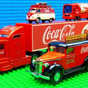 Truck SUV Racing Coca Cola Food Truck Mini Van