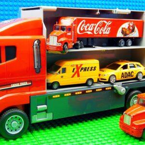 Trucks Transporter FoodTrucks Forklift  Dump Truck Bulldozer Racing