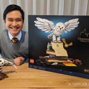 unboxing the lego harry potter hogwarts icons set