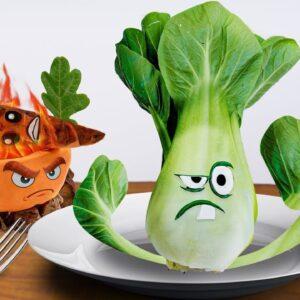 Eating Plants Vs Zombies 2 Imp Monk Zombie for Dinner | Asmr Mukbang Animation