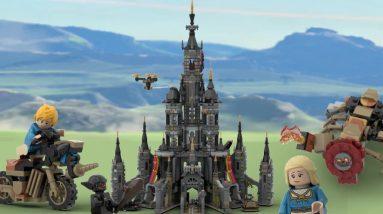 a legend of zelda hyrule castle project has hit 10k on lego ideas