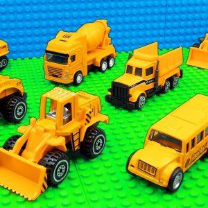 Big Building FOOD TRUCK Bulldozer Dump Trucks