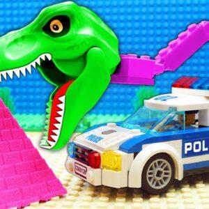 Big Dino Police SUV Trucks Pickup