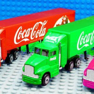 Big Mini Coca Cola Food Container Trucks
