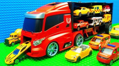Big Transporter Super-Building Trucks Bulldozer Mobil Crane SUV
