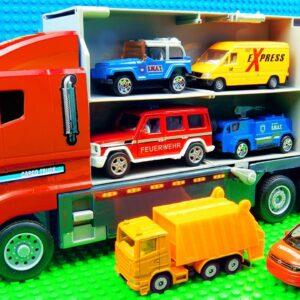 Big Transporter Truck Tractor Ramp Truck Roller Wrecker