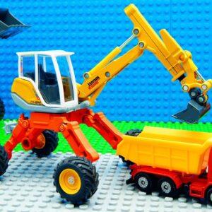 Big Trucks Excavator Bobcat Racing