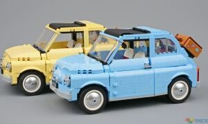 blue and yellow fiats compared