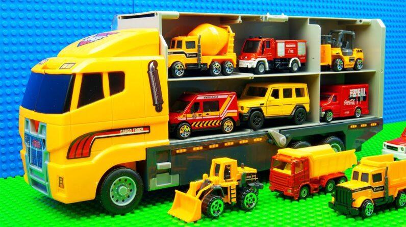 Building Truck Car Transporter Big Mobile Crane
