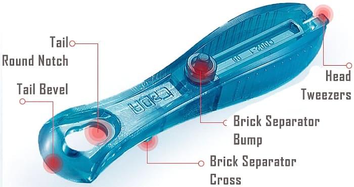 cada brick separator for technic builders more