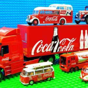Coca Cola Maxi Mini VW Bus Food SUV Lorry Truck Racing