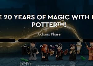 contest to celebrate 20 years of lego harry potter