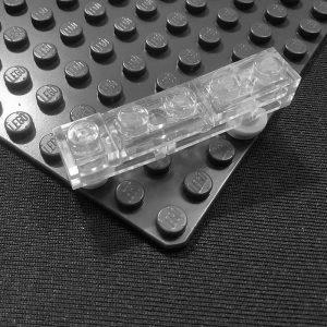 creating angled designs with lego bricks