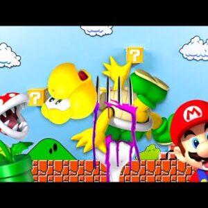 Eat Animals in the Supper Mario Game - Lina Tik Eating ASMR Food Mukbang