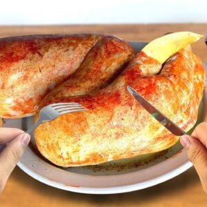 Eating Dinosaur Leg In Jurassic Park For Lunch |  Linatik ASMR Mukbang