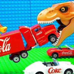 Godzilla vs Truck Pickup Giant Pit