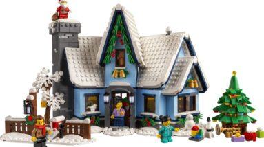 introducing the 2021 lego winter village set 10293 santas visit