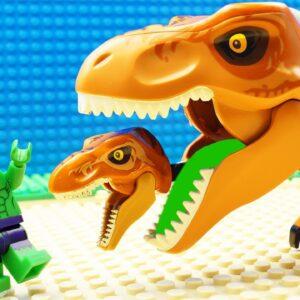 JURASSIC WORLD EVOLUTION T-Rex Dinosaurs vs Blue Velociraptor