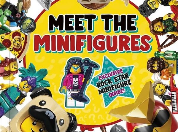 lego and dk bringing meet the minifigures book with rock star cmf exclusive next year