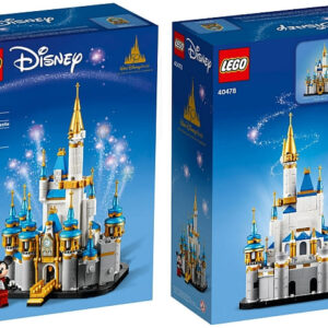 lego disney mini cinderella castle review