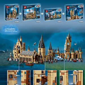 lego harry potter hogwarts astronomy tower review