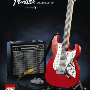lego ideas fender stratocaster guitar coming soon