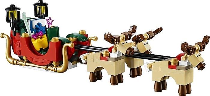 lego santas sleigh the evolution of lego reindeer