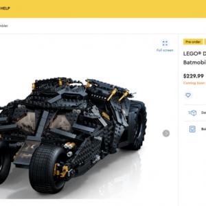 lego seemingly halts online pre orders