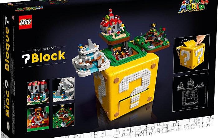 lego super mario 64 question mark block review
