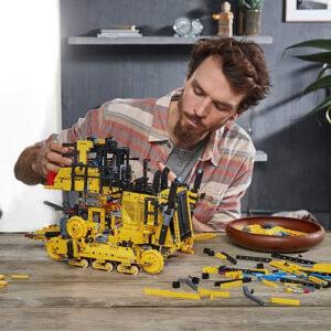 lego technic app controlled cat d11 bulldozer