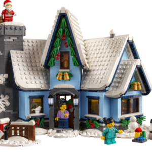 lego winter village 10293 santas visit available now for vips