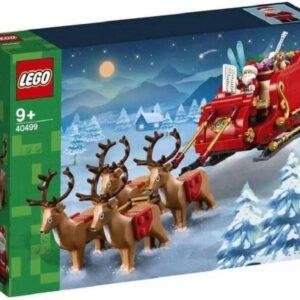 malaysian retailer has first images of lego seasonal santas sleigh 40499
