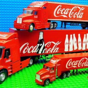 Mega Coca Cola Trucks Bus Bulldozer
