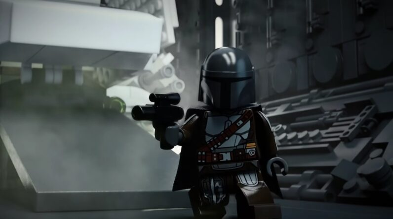 new lego star wars shorts made with help from world builder