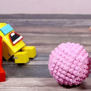 LEGO AMONG US, But They Play Bowling In Real Life   Stop Motion Cooking & ASMR