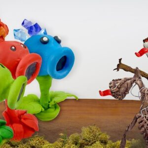 Eating Plants vs Zombie and Siren Head for Dinner - Asmr Food Mukbang Animation