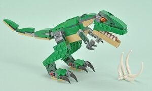 review 31058 mighty dinosaurs